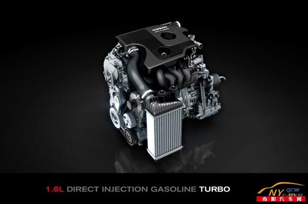 新逍客1.6t发动机将只匹配手动变速器